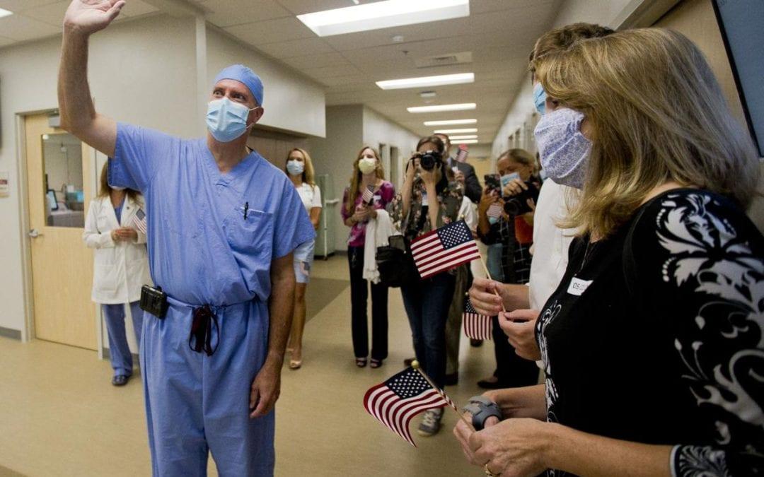 DR. ERIC STEM HONORED AT HEALTHCARE HERO PARADE